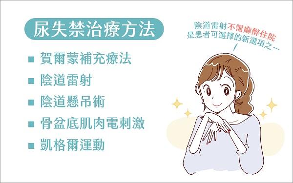 尿失禁治療方法